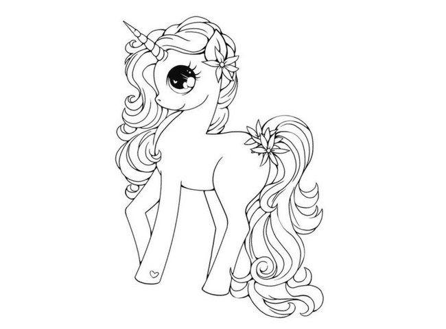 Dibujos Para Descargar Imprimir Y: Imágenes De Unicornios Para Descargar Listas Para