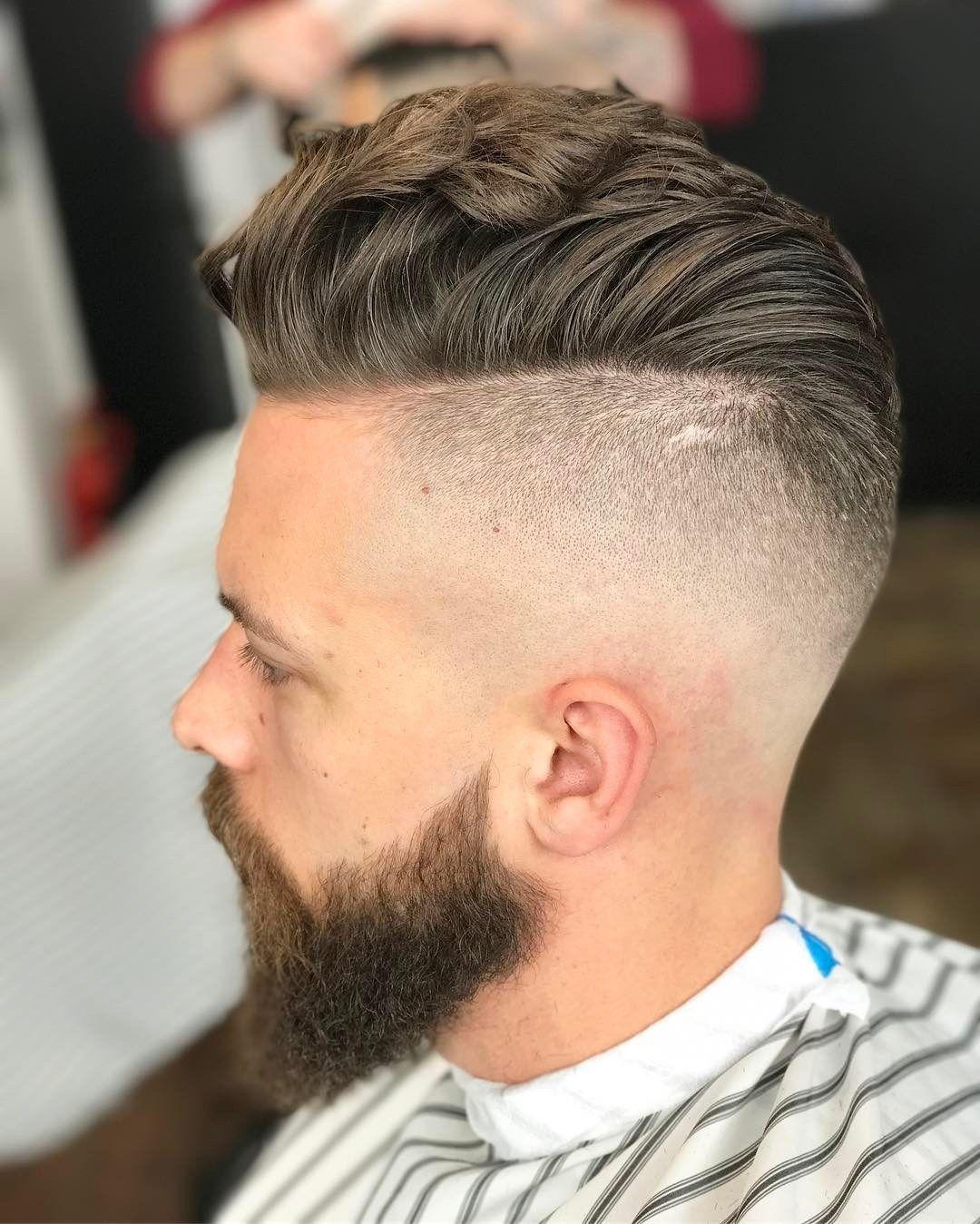 New Degraded Haircuts Man Short Hair 2019 Winter Haircuts