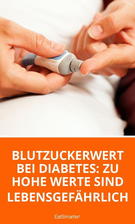 Hyperglykämie (erhöhte Blutzuckerwerte), Ketoazidose und Koma