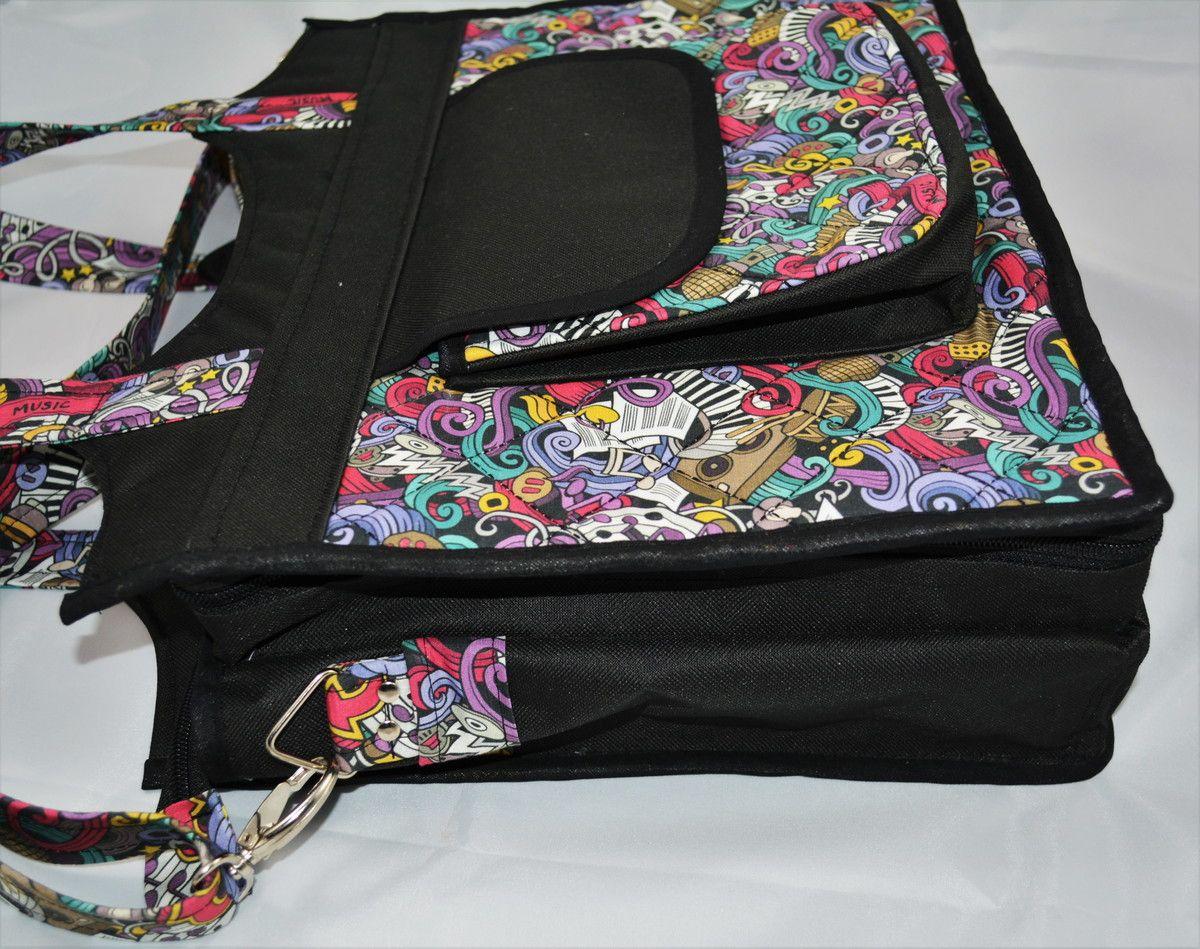 e733e7381 Bolsa ideal para professoras e estudantes que precisam carregar bastante  material no dia a dia.