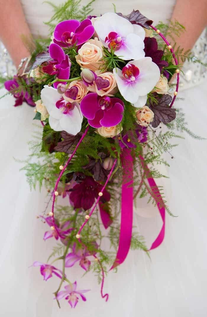 Orchideen Brautstrau  Bildergalerie in 2019  Hochzeit
