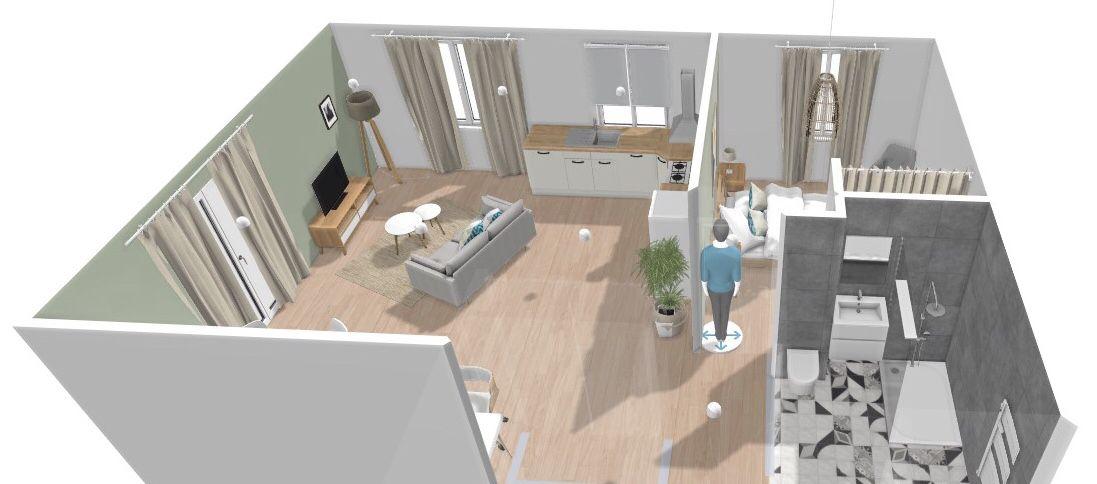 aménagement appartement f2