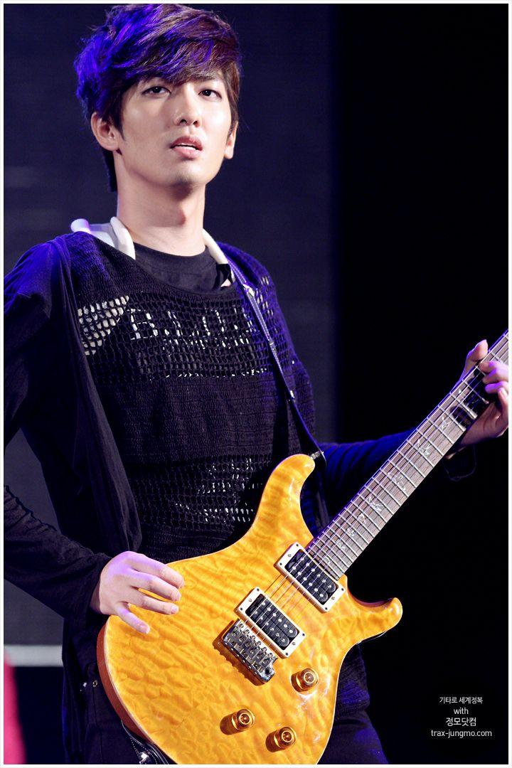 """Kim """"X-Mas"""" Jung-mo of TRAX"""