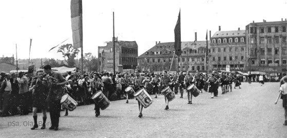 Waisenstraße, ca. 50er Jahre