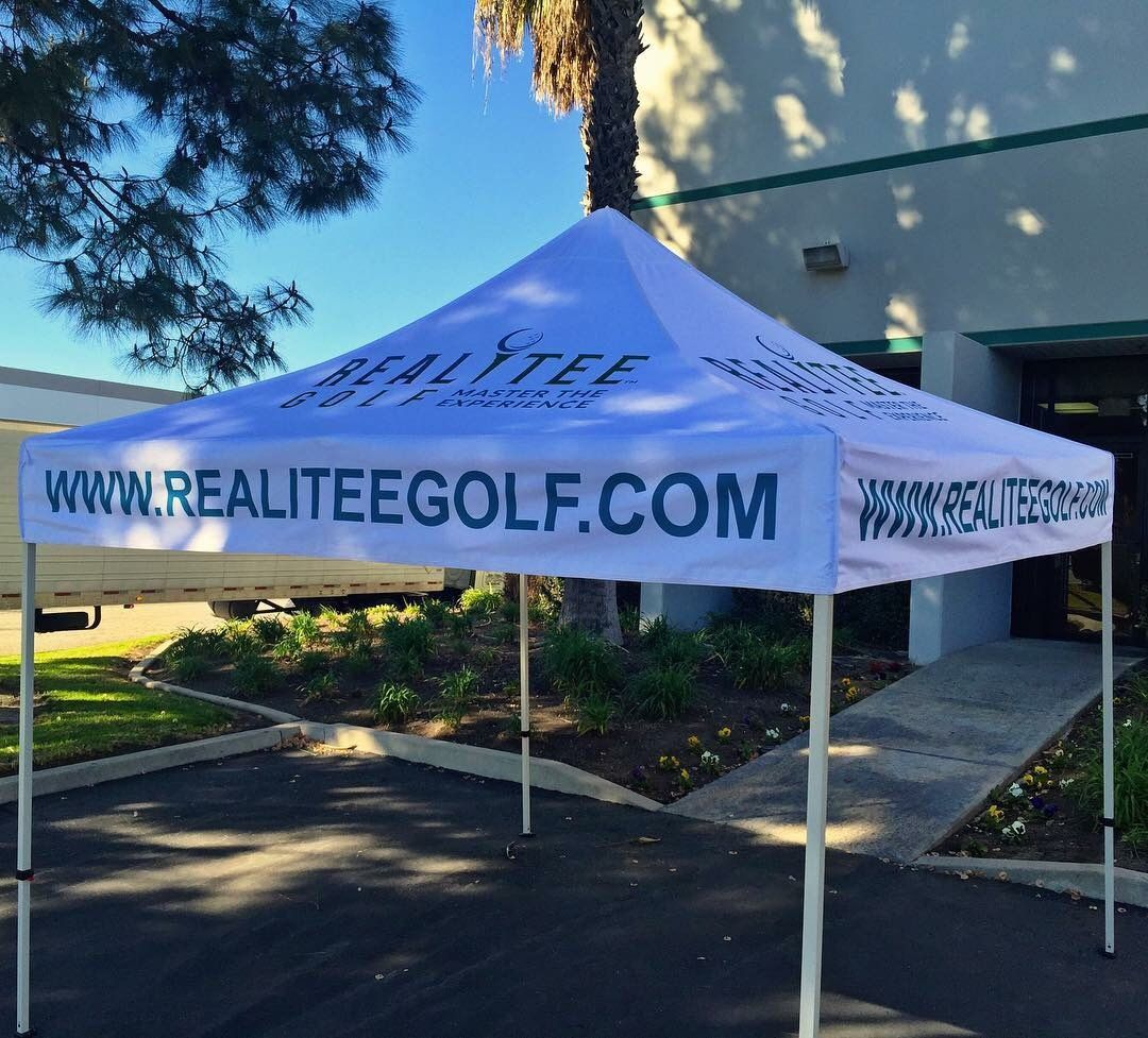 We offer Canopies and other types of outdoor displays! | Promotional