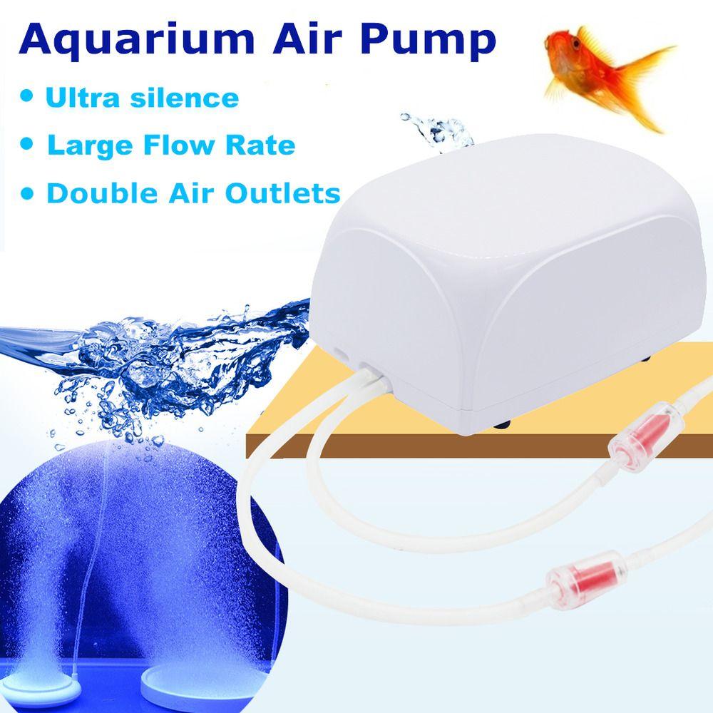 Aquarium Air Pump Adjustable Fish Tank Air Compressor Oxygen Pump Large Pump Unbranded Aquarium Air Pump Air Pump Fish Tank