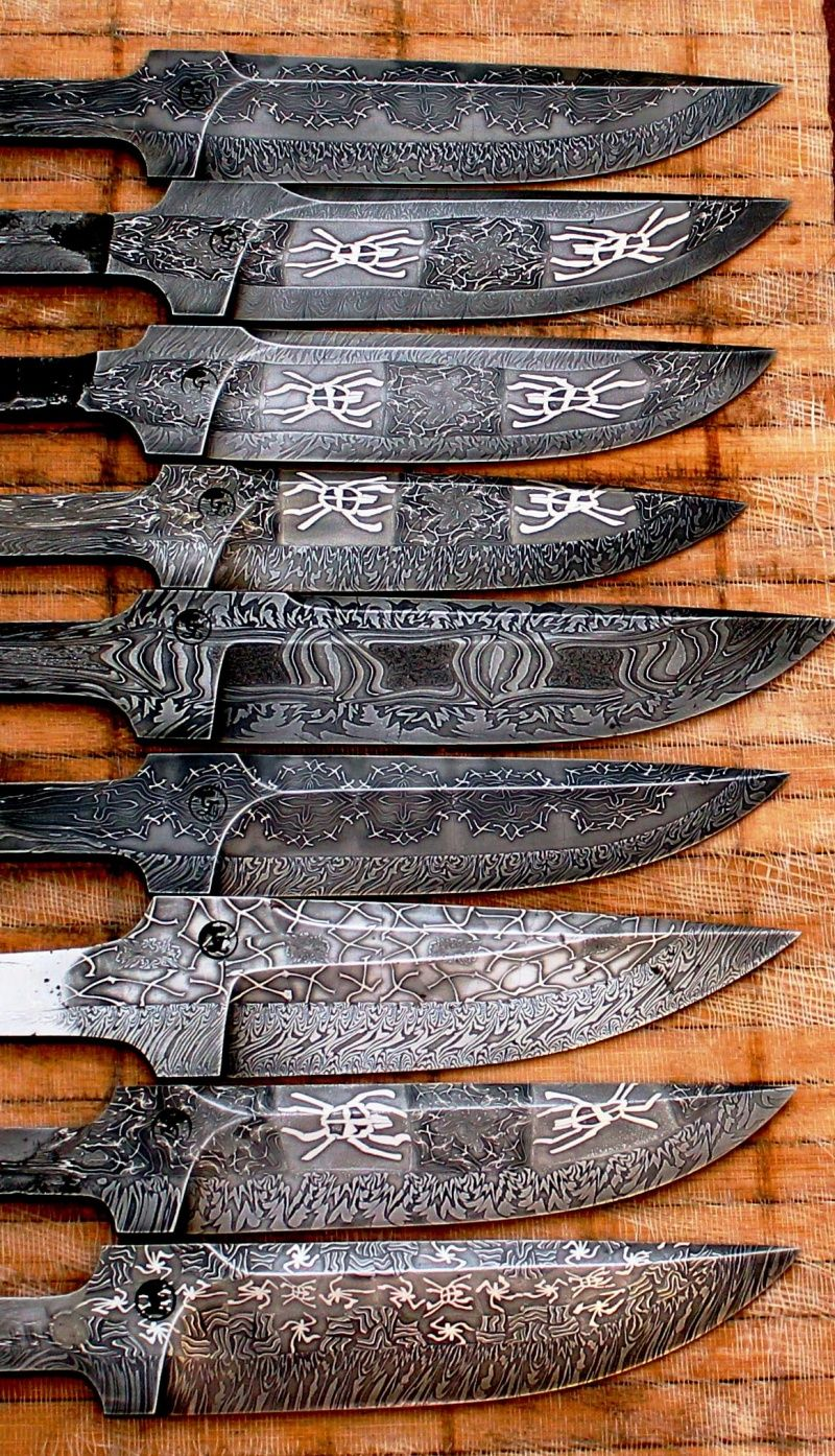Knife Damasco Proyectos Cuchillos Fabricaci 243 N De