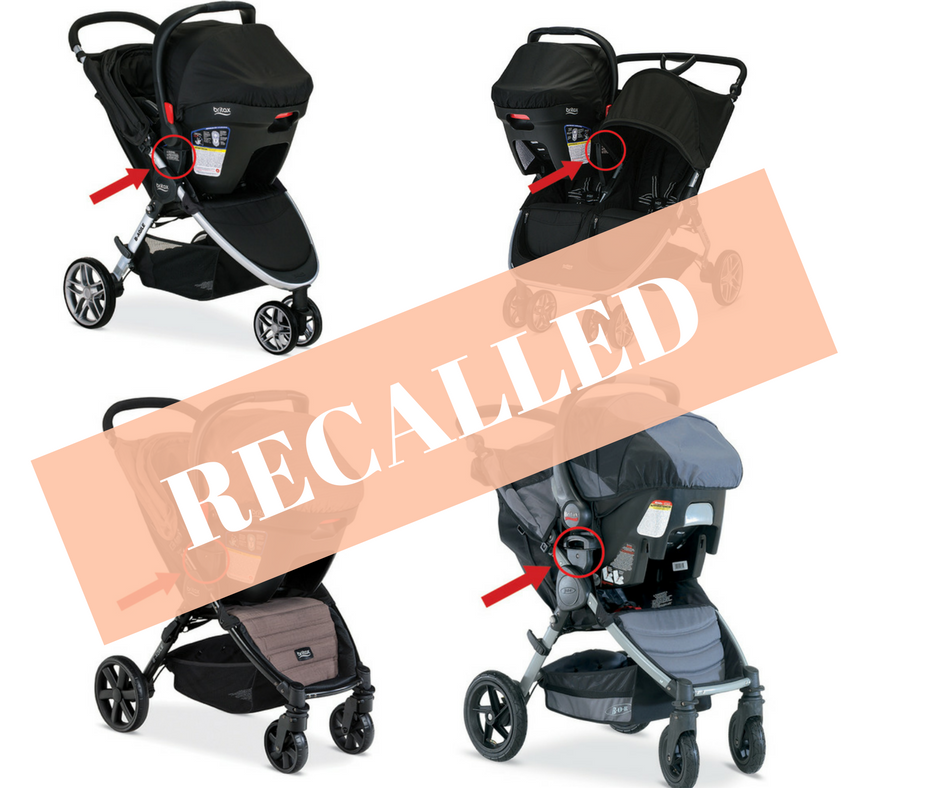Britax Stroller Recall Information for Parents and