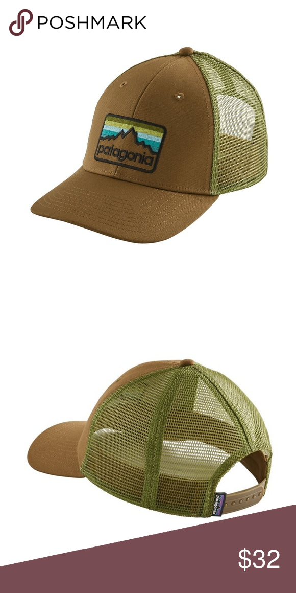 bf2d94996ad3c Patagonia Line Logo Badge LoPro Trucker Hat NEW WITH TAGS The Line Logo  Badge LoPro Trucker Hat features a traditional