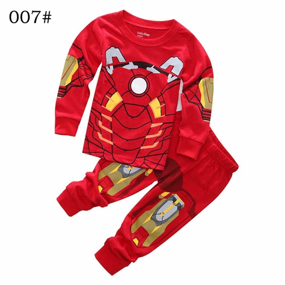 4bf52a74e5 2-7 Yrs Toddler Boy Captain America Pyjamas Set 2pcs Baby Marvel Sleepwear  Child  fashion  clothing  shoes  accessories  kidsclothingshoesaccs ...