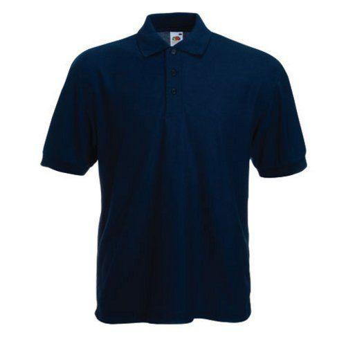 Fruit of the Loom Classic Poloshirt deep navy,XL