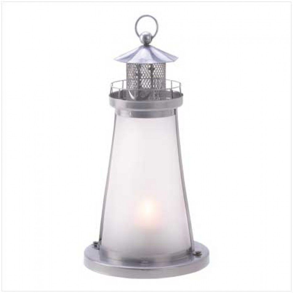 Lookout Lighthouse Candle Lamp [13789 Lighthouse Candle Lamp ...