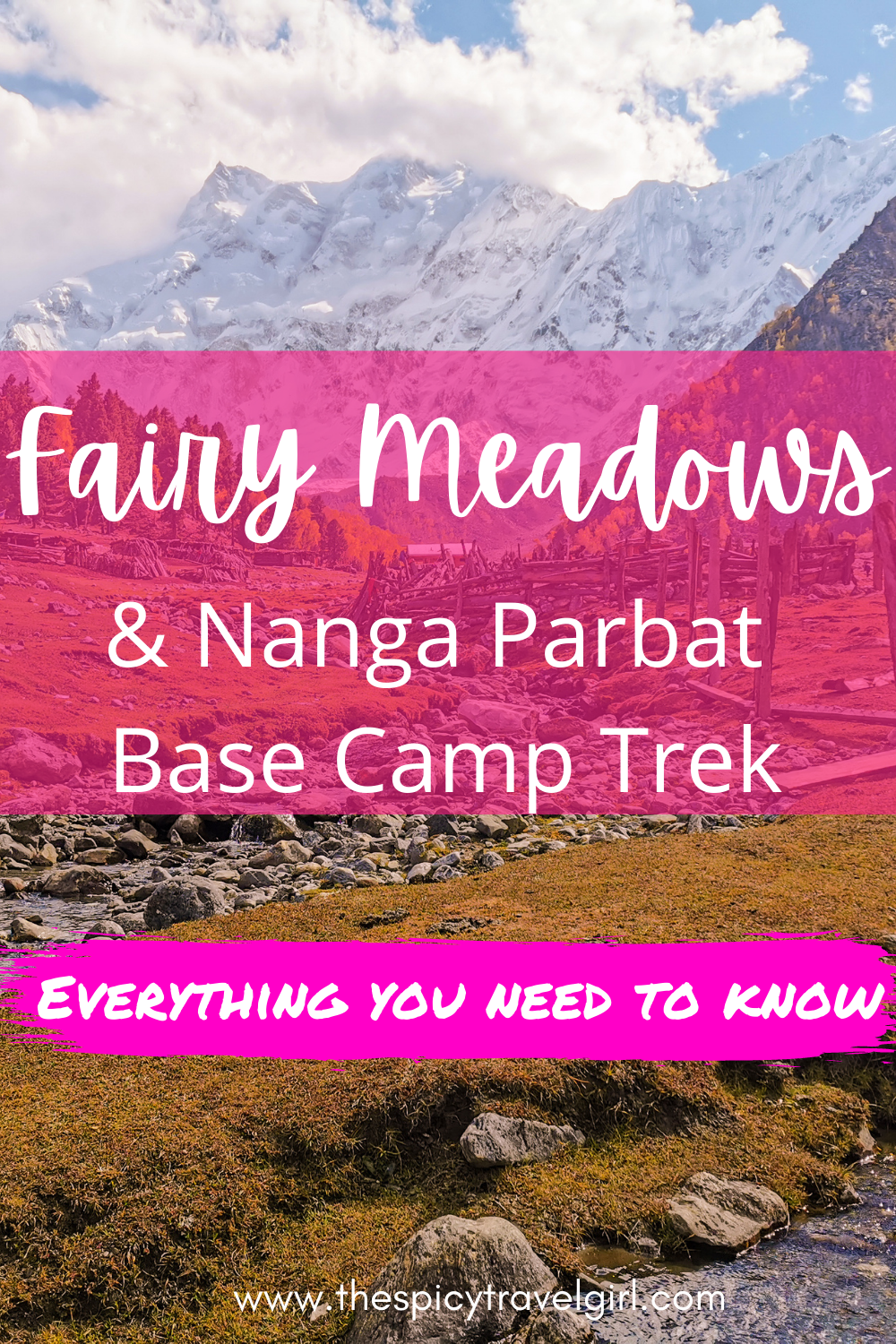 Fairy Meadows is one of the most breathtaking places to visit in Pakistan and the gateway to the mighty Nanga Parbat mountain. Plan your perfect trip to Fairy Meadows Pakistan and the Nanga Parbat with this complete Fairy Meadows travel guide that will answer all your questions about traveling to Fairy Meadows Pakistan. #pakistantravel #pakistannature #pakistanmountains
