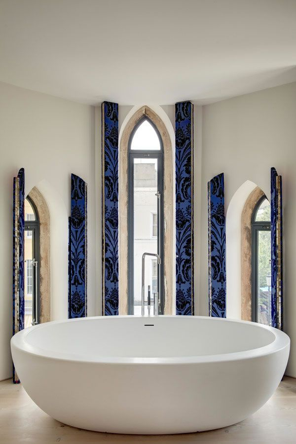 This Modern Loft Inside The Victorian Church, Located In London Is A  Project By DOS. Modern LoftsBathroom IdeasModern ...
