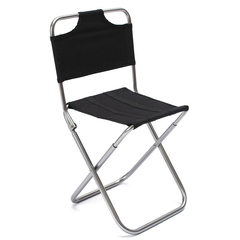Portable Folding Aluminum Oxford Cloth outdoor Fishing Camping Backrest Chair