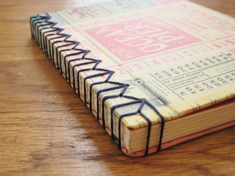 Make This - Stab BoundJournal - Luxe DIY - How Did You Make This?
