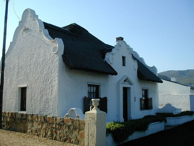 Cape Dutch Style House Hermanus Dutch Cape And