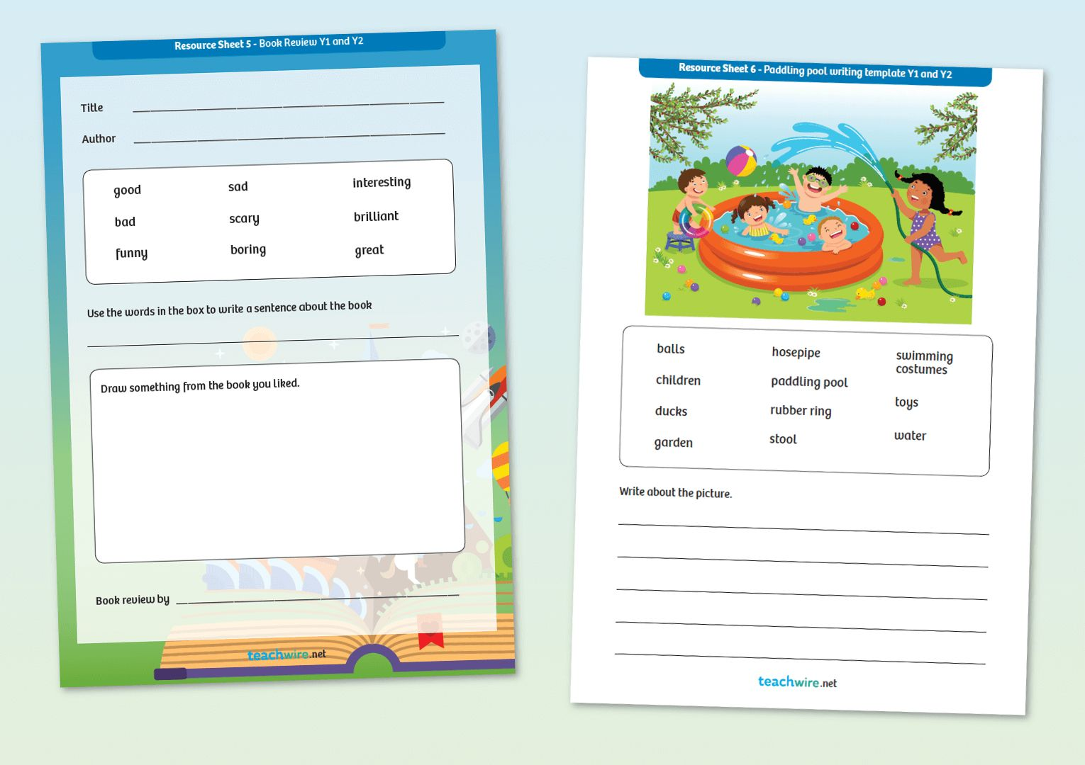 Non Fiction Writing Templates 7 Of The Best Worksheets