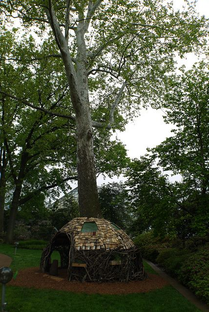 Nomad Nest | Flickr - Photo Sharing! could be fun for a kids treehouse