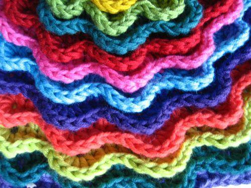 Crocheting crochet