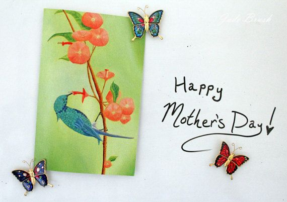 Monarch Butterflies on a Flower in a Teal Sky 5X7 Cards: Set of 10 by jadebrushArt on Etsy