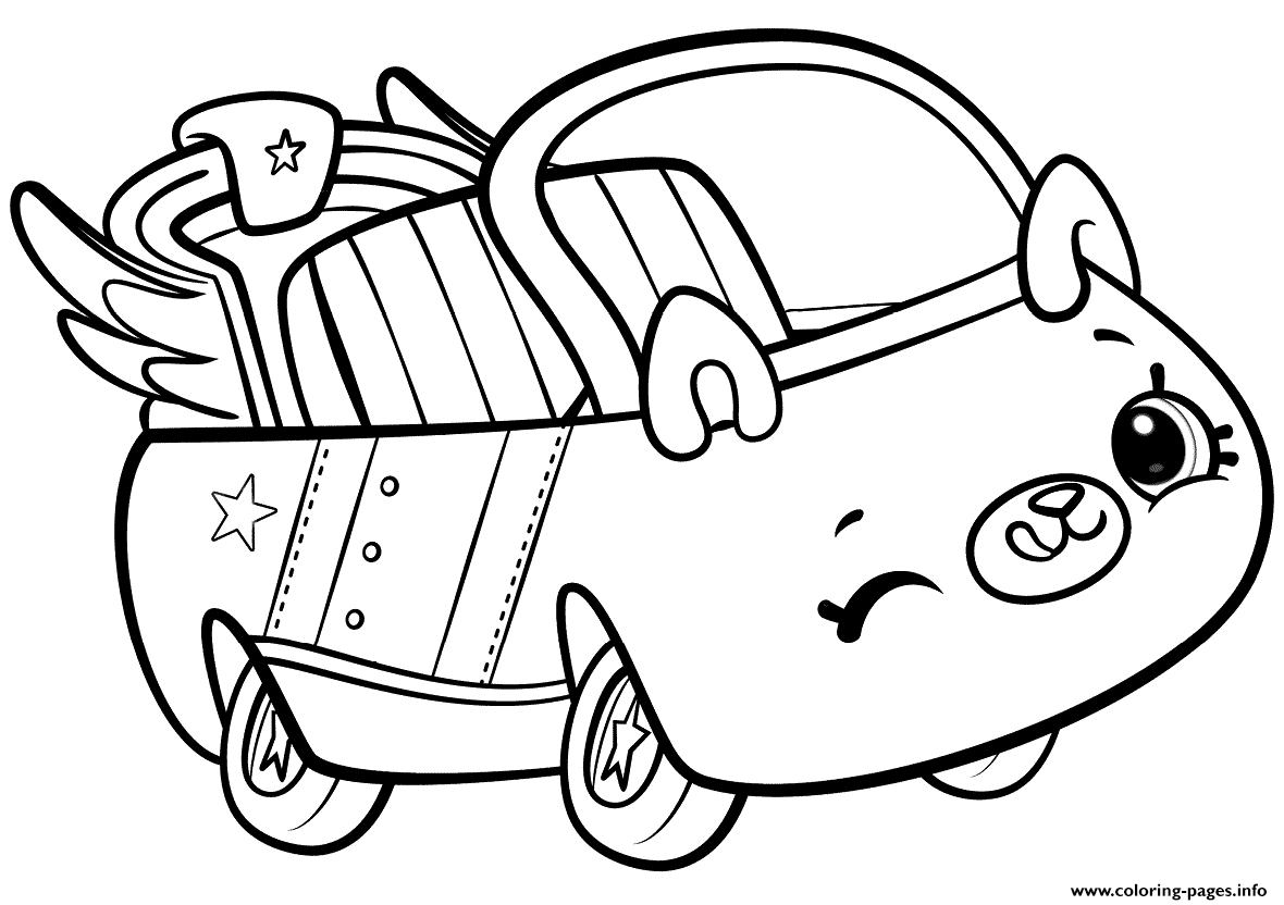 Print Shopkins Cutie Cars Coloring Pages Cars Coloring Pages Shopkins Colouring Pages Shopkins Coloring Pages Free Printable