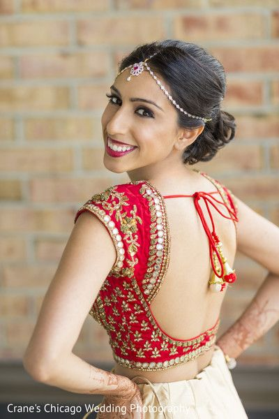 Gorgeous Bridal Portrait Http Www Maharaniweddings Com Gallery Photo 105879 Kjohnartist Bridal Blouse Designs Backless Blouse Designs Lehenga Blouse Designs