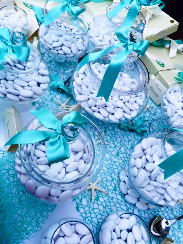 Confettata Tema Mare Buffet Matrimonio Confetti Centrotavola Matrimonio