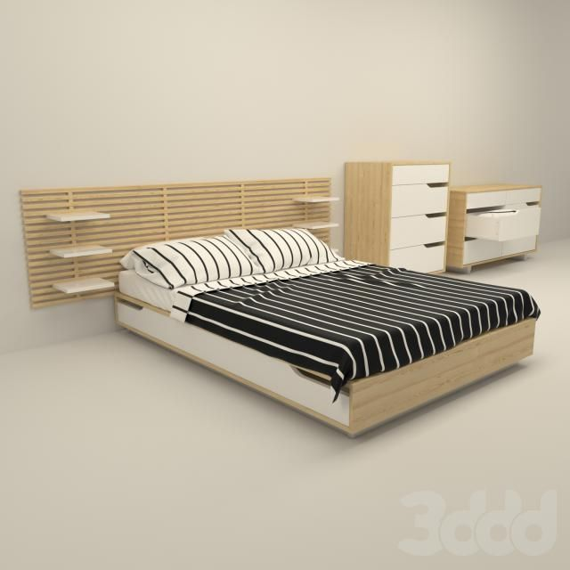 Ikea mandal bed pinterest apartments house and for Testiera letto ikea mandal