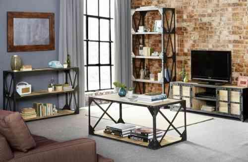 personnalisez votre salon avec le meuble tv industriel - Meuble De Salon Industriel