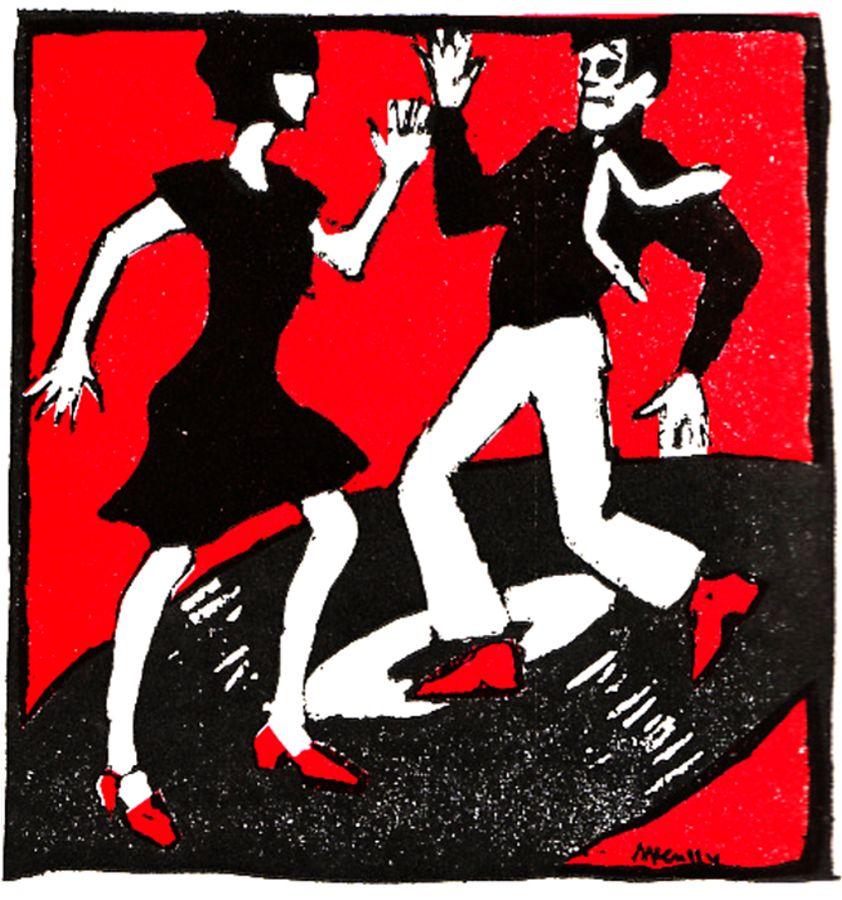 Dance illustration - 1966