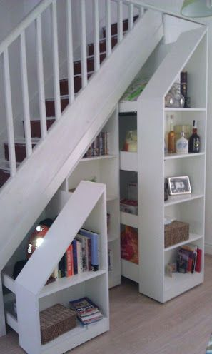 Resultado de imagen para como aprovechar placard bajo escalera - porte de placard sous escalier