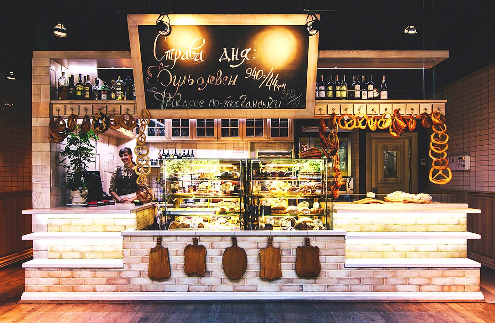 Beautiful bakery in Ukraine brings back the look and