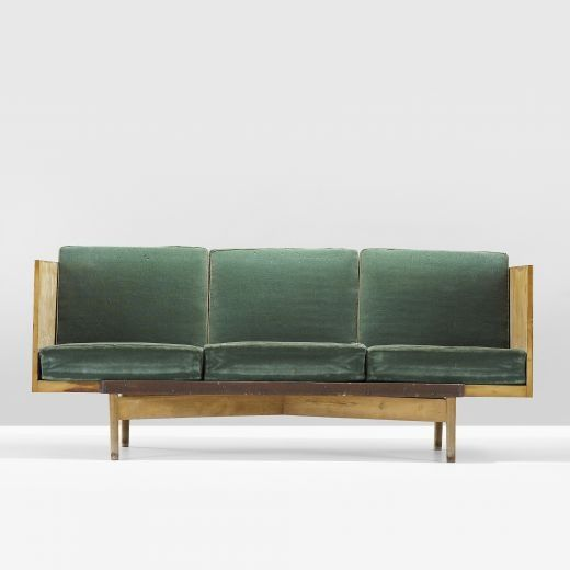 Sofa from Casa Campagnolo by Ugo Sissa. 1942-1943
