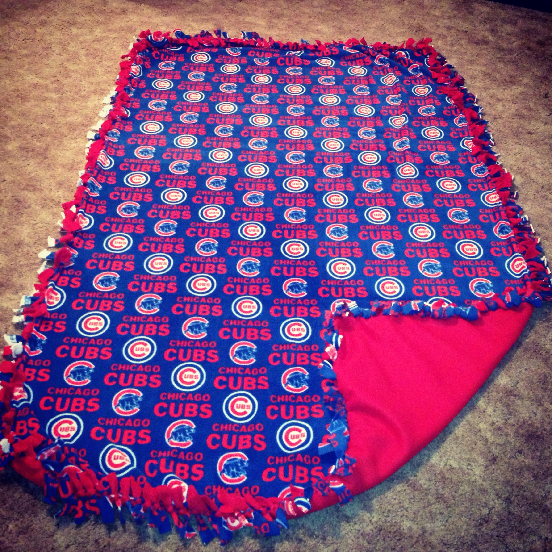 Cubs Blanket