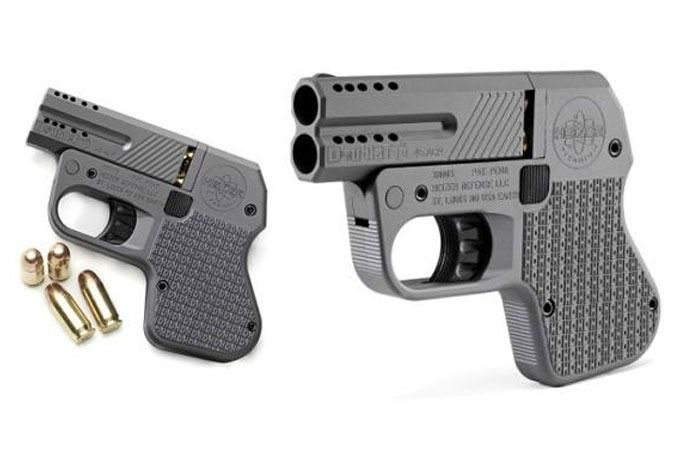 The tiny DoubleTap Tactical Pocket type of pistol as commonly known is a weapon made by Heizer Defense and seen as the smallest. 45-caliber pistol across the globe. The small tactical weapon holds...