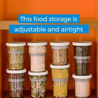 Botto: Adjustable Storage Container…