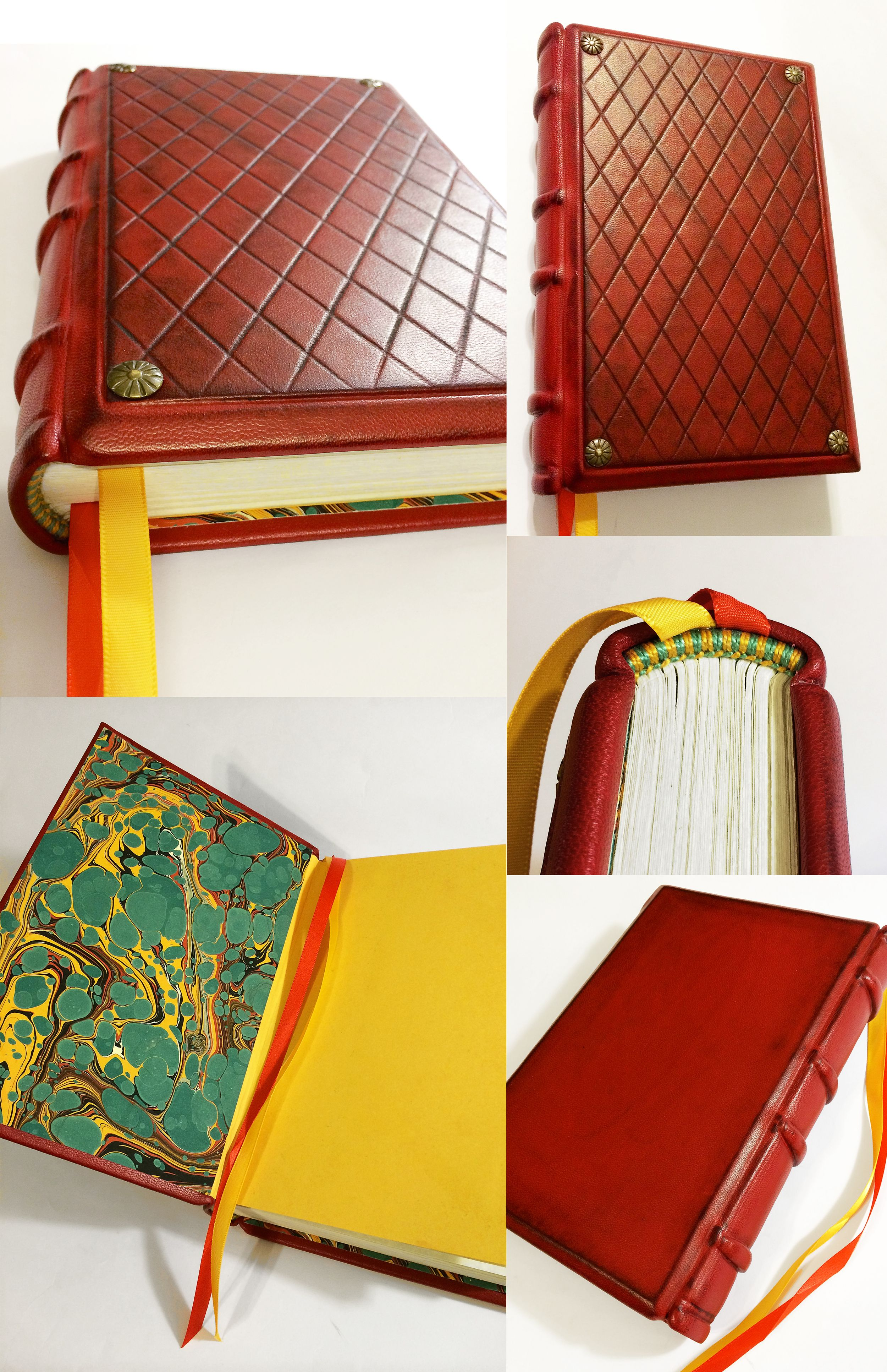 THE RED DIAMOND by BC Bookbinding