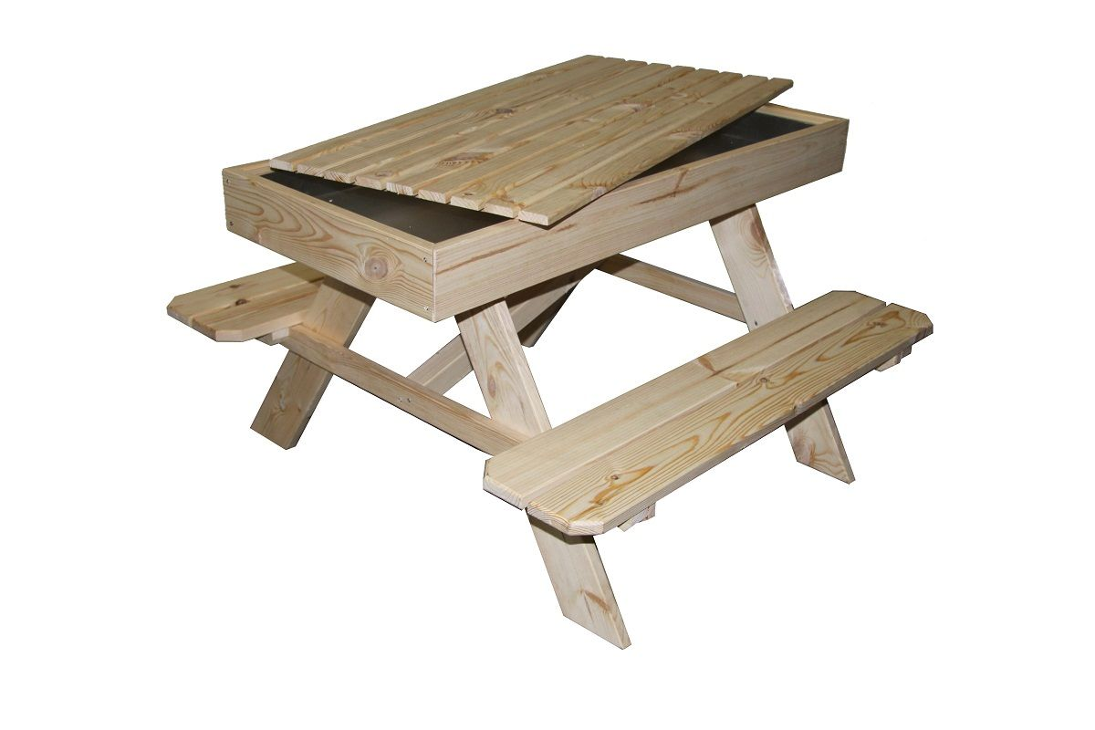 Picknick Tafel Kinderen : Outdoor massief hout kinderen kids zandbak picknicktafel buy