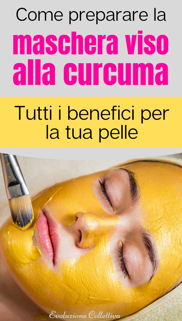Come fare la maschera viso alla curcuma che elimina acne, rughe ed eczema