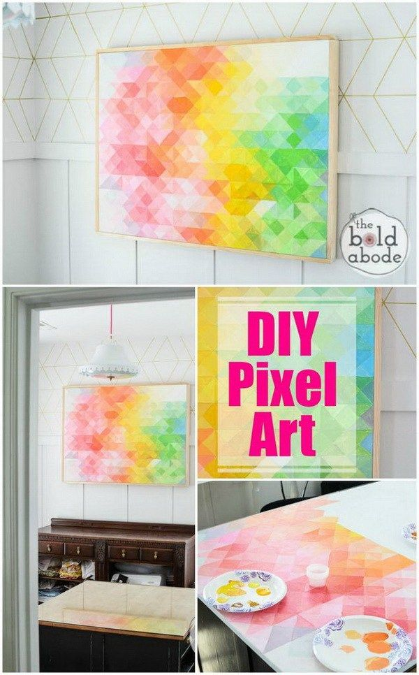 25 Stunning Diy Wall Art Ideas Tutorials Diy Wall Art