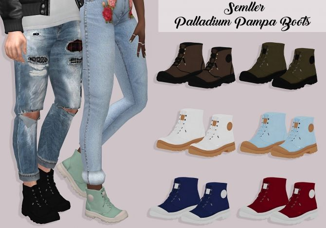 Semller Pampa Boots at Lumy Sims • Sims 4 Updates