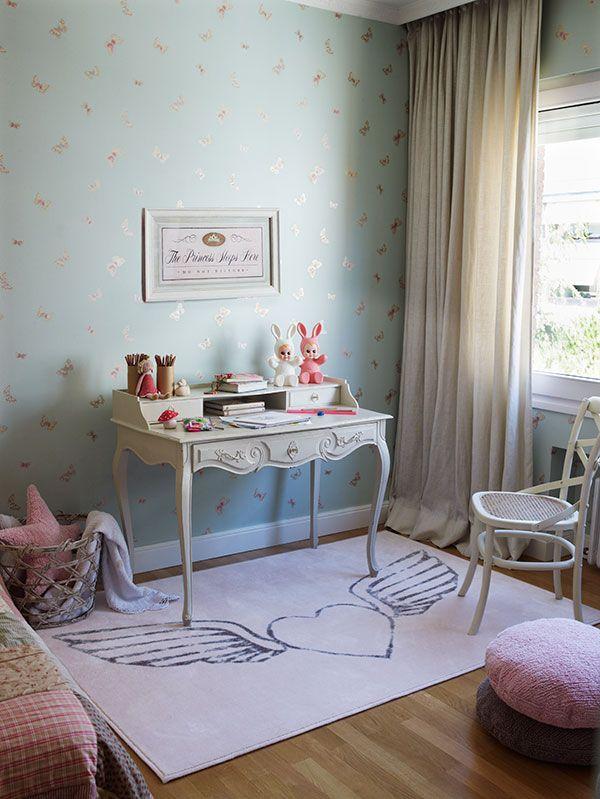 Alfombra con dibujo de coraz n alado ideal para - Alfombras para dormitorios juveniles ...