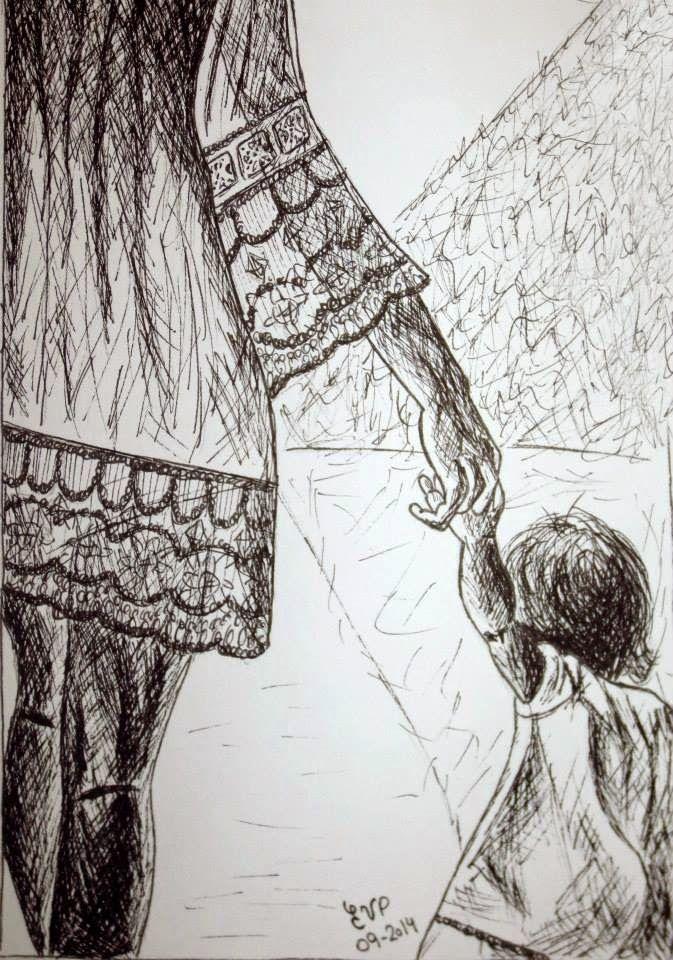 Dibujando un poco: madres e hijas | DIBUJANDOME VOY!!! | Pinterest ...