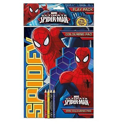 marvel #ultimate #spiderman play pack arts and crafts #colouring book indoor,  View more on the LINK: http://www.zeppy.io/product/gb/2/272115576337/