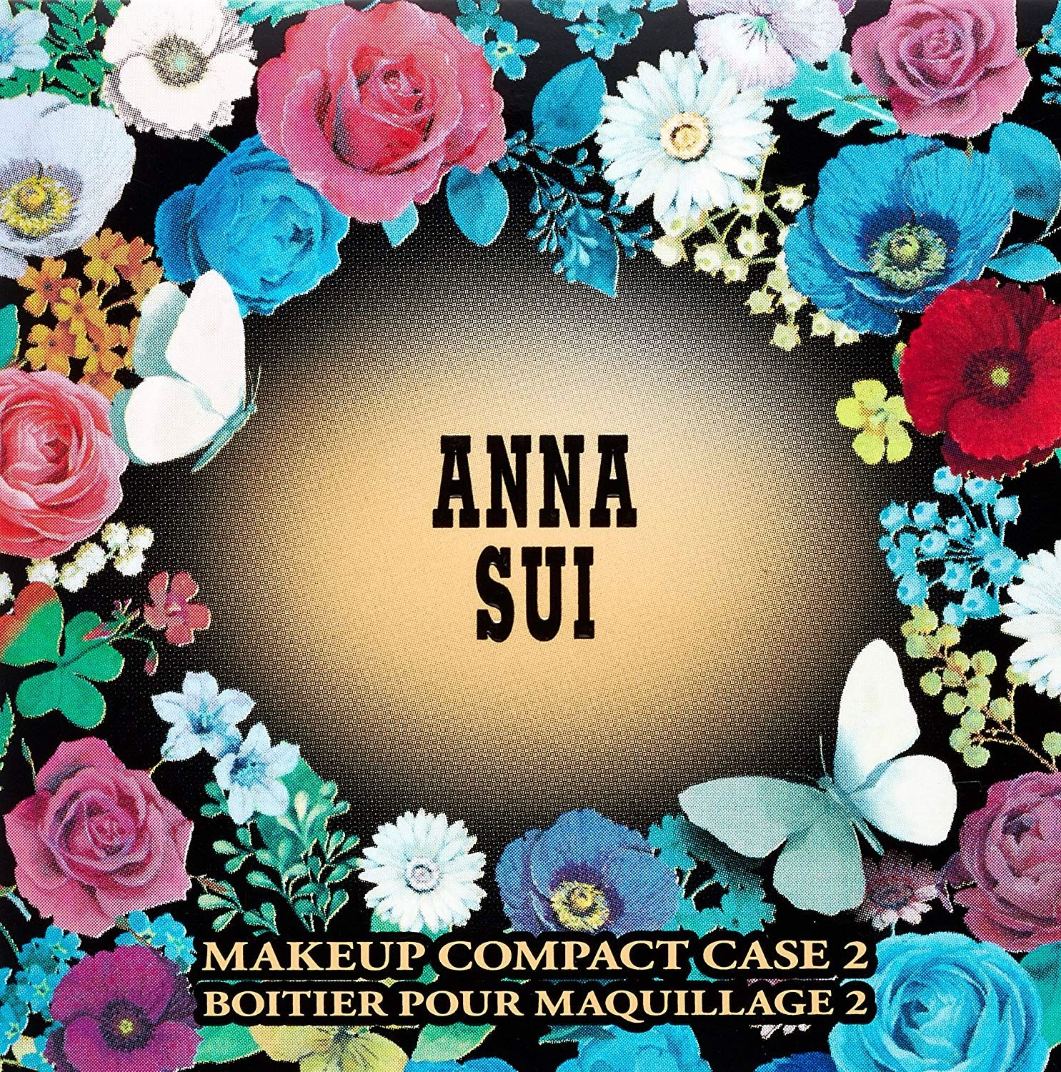 ANNA SUI Makeup Compact Case 2, 48g Amazon.co.uk Luxury