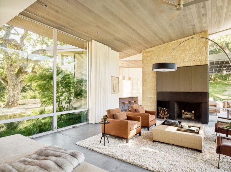 casa-californiana-living-teto-de-cedro