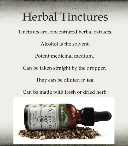 Guide to Making Herbal Tinctures