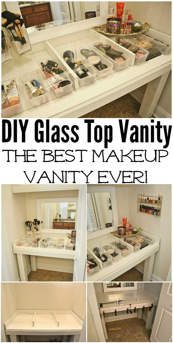 Cheap DIY Makeup Vanity Table Ideas images