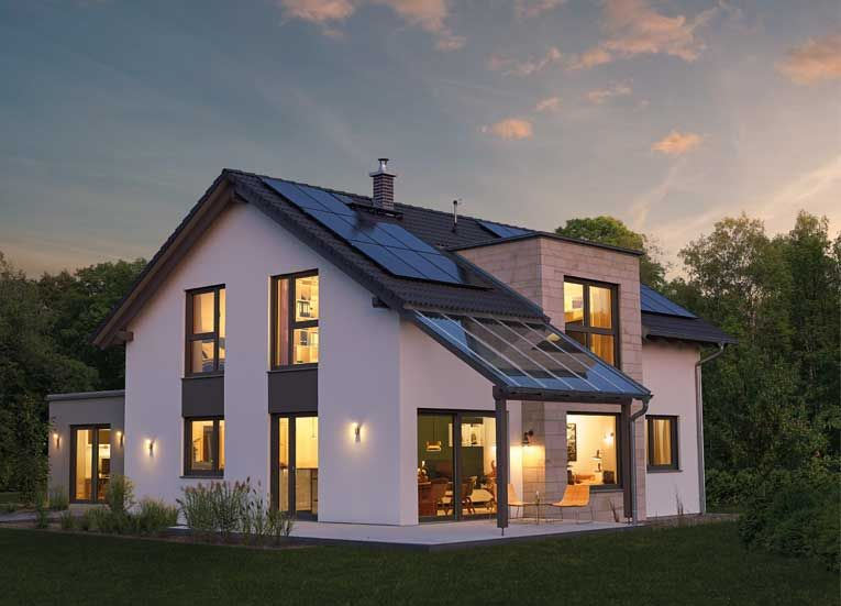 Fertighaus Variant 35172 Haus, Haus bauen, Architektur haus